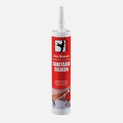 Sanitární silikon bílý 280 ml